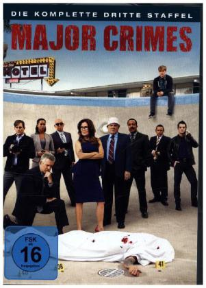 Major Crimes. Staffel.3, 4 DVDs | Dodax.ch