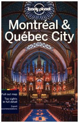 Lonely Planet Montreal & Quebec | Dodax.fr