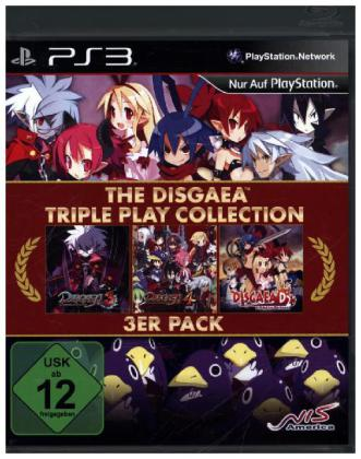 The Disgaea Triple Play Collection German Edition - PS3 | Dodax.nl