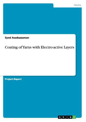 Coating of Yarns with Electro-active Layers | Dodax.ch