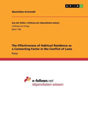 The Effectiveness of Habitual Residence as a Connecting Factor in the Conflict of Laws   Dodax.ch