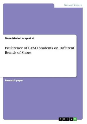 Preference of CFAD Students on Different Brands of Shoes | Dodax.pl