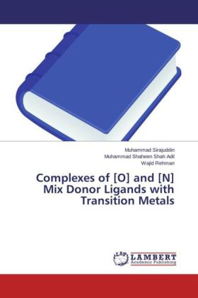 Complexes of [O] and [N] Mix Donor Ligands with Transition Metals   Dodax.ch