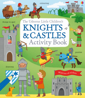 Little Children's Knights and Castles Activity Book | Dodax.at