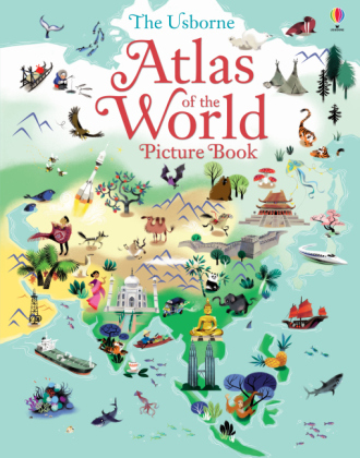The Usborne Atlas of the World Picture Book | Dodax.ch