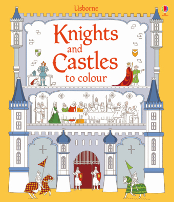 Knights and Castles to Colour | Dodax.at