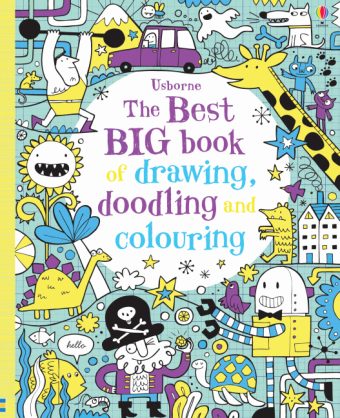 The Best Big Book of Drawing, Doodling and Colouring | Dodax.at