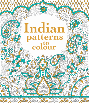 Indian Patterns to Colour | Dodax.de