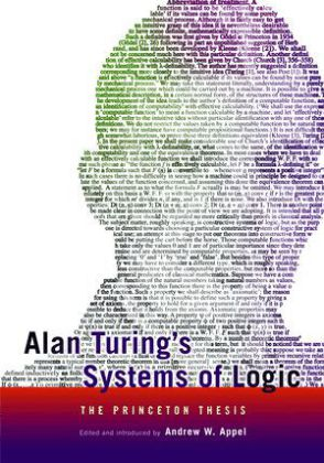 Alan Turings Systems of Logic | Dodax.at