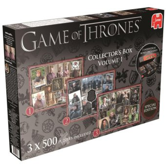 Game of Thrones (Puzzle), Collector's Box Special Edition. Tl.1 | Dodax.ch