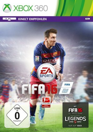 FIFA 16 - Xbox 360 | Dodax.co.uk