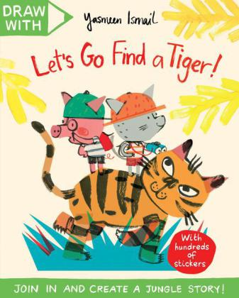 Draw With Yasmeen Ismail: Let's Go Find a Tiger! | Dodax.de