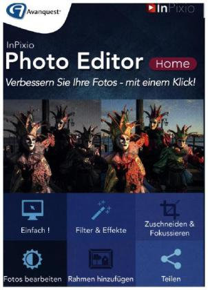 InPixio Photo Editor Home, 1 DVD-ROM | Dodax.at
