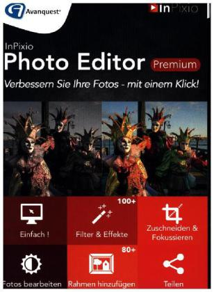 InPixio Photo Editor Premium, 1 DVD-ROM | Dodax.at