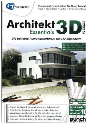Architekt 3D X8 Essentials, 1 DVD-ROM | Dodax.ch