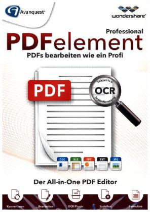 Wondershare PDFelement Professional (mit OCR), 1 CD-ROM | Dodax.ch