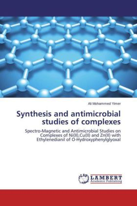 Synthesis and antimicrobial studies of complexes | Dodax.ch