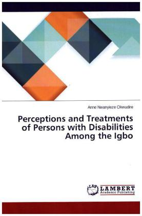 Perceptions and Treatments of Persons with Disabilities Among the Igbo | Dodax.de