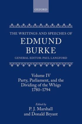 The Writings and Speeches of Edmund Burke | Dodax.pl