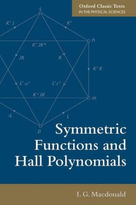 Symmetric Functions and Hall Polynomials | Dodax.ch