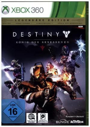 Destiny - König der Besessenen, Xbox360-DVD (Legendäre Edition) | Dodax.co.uk