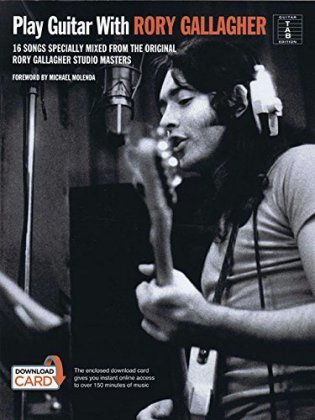 Play Guitar With Rory Gallagher, w. Download Card | Dodax.ch
