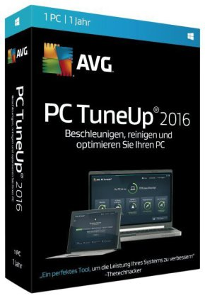 AVG PC TuneUp 2016 - 1 PC, DVD-ROM | Dodax.at