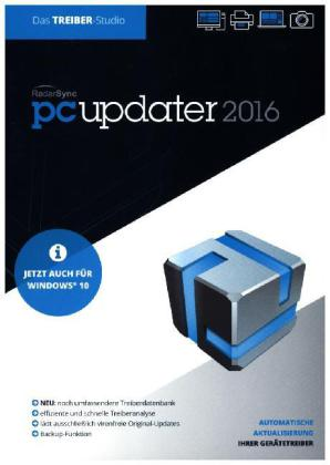 RadarSync PC Updater 2016, DVD-ROM | Dodax.at