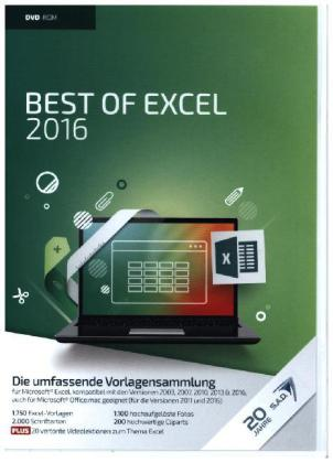 Best of Excel 2016, DVD-ROM | Dodax.at
