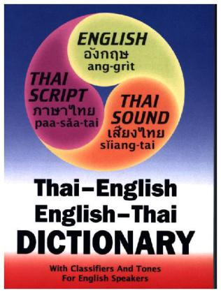 Thai-English and English-Thai Three-way Dictionary | Dodax.pl