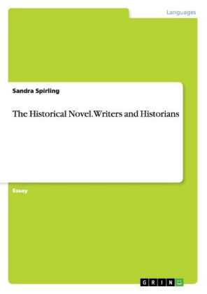 The Historical Novel. Writers and Historians | Dodax.ch