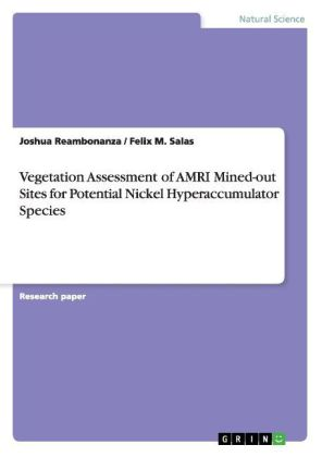 Vegetation Assessment of AMRI Mined-out Sites for Potential Nickel Hyperaccumulator Species | Dodax.pl