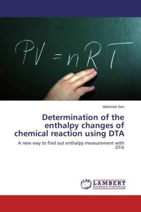 Determination of the enthalpy changes of chemical reaction using DTA | Dodax.ch