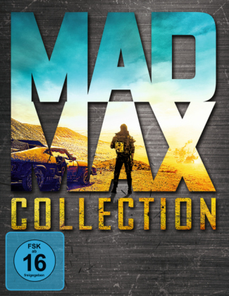 Mad Max Collection, 4 Blu-rays | Dodax.ch