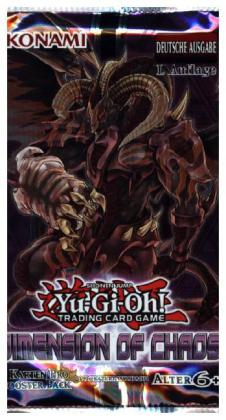 Yu-Gi-Oh! (Sammelkartenspiel) Dimension of Chaos Booster Pack | Dodax.at