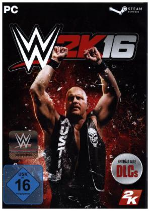 WWE 2K16, DVD-ROM | Dodax.co.uk