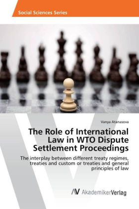 The Role of International Law in WTO Dispute Settlement Proceedings | Dodax.pl