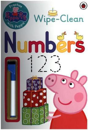 Peppa Pig: Practise with Peppa: Wipe-Clean Numbers | Dodax.ch