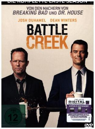 Battle Creek - Die komplette erste Season - 3 Disc | Dodax.fr