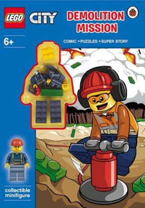 LEGO CITY - Demolition Mission Activity Book with Minifigure | Dodax.at