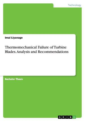 Thermomechanical Failure of Turbine Blades. Analysis and Recommendations | Dodax.nl