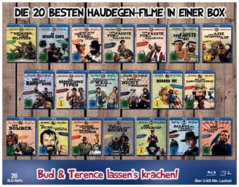 Bud Spencer & Terence Hill - 20er Mega Blu-ray Collection, 20 Blu-rays   Dodax.ch