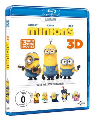 Minions 3D, 2 Blu-ray | Dodax.at