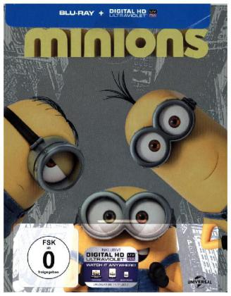 Minions, 1 Blu-ray + Digital UV (Limited Edition, Steelbook) | Dodax.ch