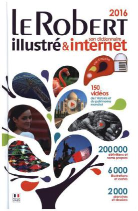 Le Robert illustré & son dictionnaire internet 2016 | Dodax.de