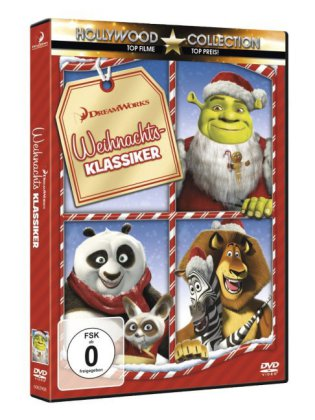 dreamworks weihnachts klassiker 1 dvd. Black Bedroom Furniture Sets. Home Design Ideas