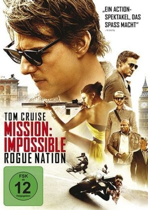 Mission: Impossible 5 - Rogue Nation, 1 DVD | Dodax.co.uk