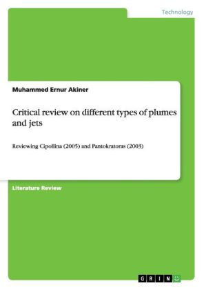 Critical review on different types of plumes and jets | Dodax.co.uk