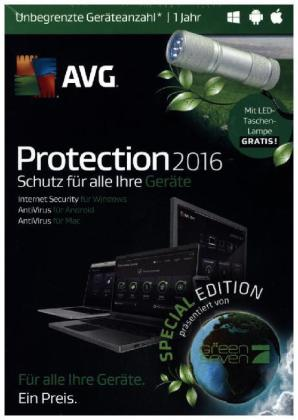 AVG Protection 2016, 2 DVD-ROM (Special Edition) | Dodax.at