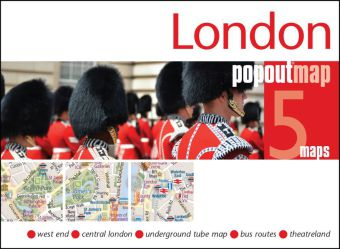 London PopOut Map | Dodax.ch